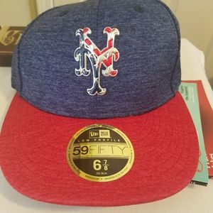 New Era 59fifty fitted 4th of July Mets hat